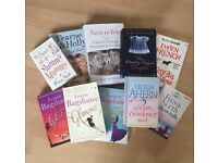 Bundle Of Books x10 Including Louise Bagshawe, Cecelia Ahern and Dawn French!