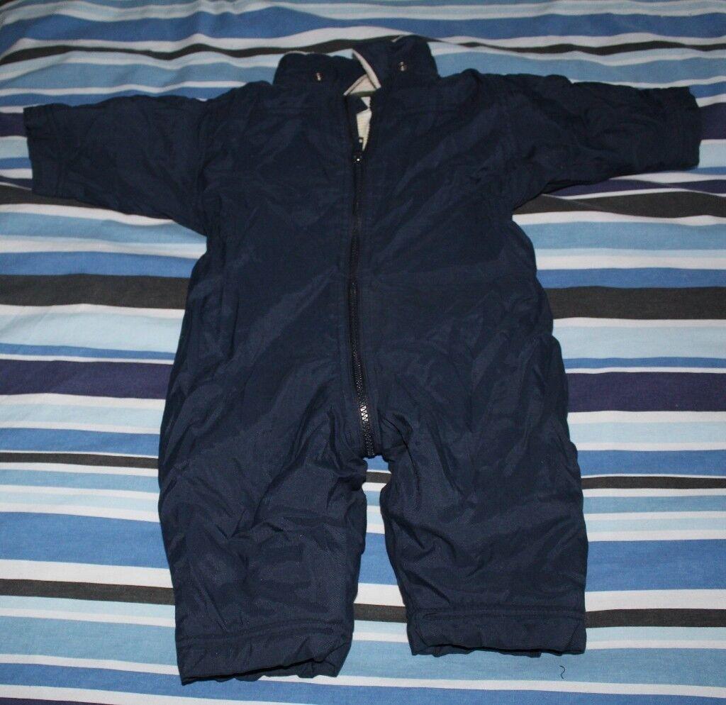 143801149 GAP baby boys (3 -12 months) all in one suit (snowsuit/pram suit) item 10a