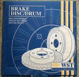 Brake Disc for Citroen (C15,SAXO,ZX) & Peugeot (106, 205, 306, 309, 405)