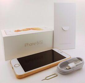 Apple iPhone 6s - 16GB - Rose Gold (EE, Orange, T-Mobile, ASDA) -Very Good (107)