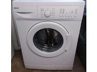 £120 White Beko Washing Machine – 6 Months Warranty