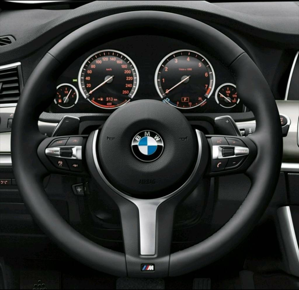 BMW Msport Steering Wheel LCI F10 5 Series 6 Series (with