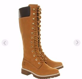 Ladies timberland high boots