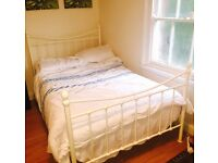 Large Metal Frame Single Bed
