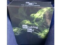 BREAKING BAD COMPLETE BOX SET.USED AS NEW
