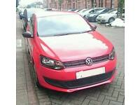 2013 red VW Polo