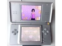 Nintendo DS Original Titanium Handheld System Console. Good condition