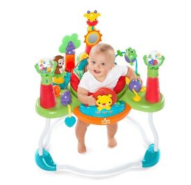 Jumperoo, bouncer perfect condition and boxed