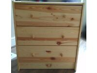 IKEA RASTChest of 3 drawers, pine