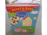 Peppa Pig Make and Bake books and accessories