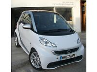 2014 SMART FORTWO COUPE PETROL AUTO,PASSION,SAT NAV,BLUETOOTH,LOW MILES,ZERO ROAD TAX,AIR CON,CD,FSH
