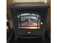 Dimplex CLB 20L Flame Effect Electric Fire, Wood Burning Stove Style