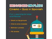 CINEMA QUIZ IN SPANISH! FUN LEARNING FOR KIDS AND ADULTS