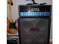 Engl Steve Morse 100w valve amplifier, Top Condition + Z12 Footswitch and 4x12, Half Stack