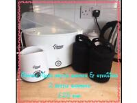 Tommee tippee steriliser and bottle warmer