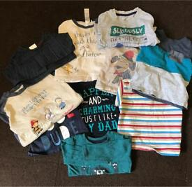 Boys 9-12 months clothing bundle