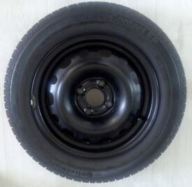 1 x Spare wheel + Tyre