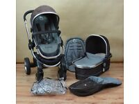 NEW ICANDY PEACH TRAVEL SYSTEM BOXD ABSOLUTE BARGAIN