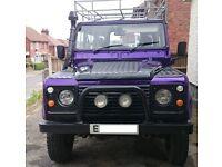 Land Rover 90 (defender) landrover 13 months MOT