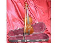 Student 1/2 size Violin Hard Case Set