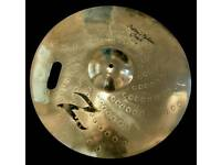 Zildjian custom Z 19' crash perfectly repaired