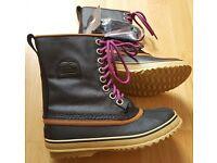 BNIB Sorel Boots Waterproof Snow Boots 1964 Premium CVS Insulated RP £140 UK 3.5
