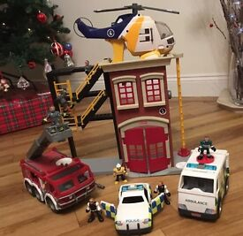 Imaginext Emergency services