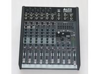ALTO LIVE PROFESSIONAL 8-CHANNEL/2-BUS MIXER (never been used)