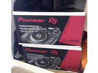 Pair of Pioneer CDJ 2000 for Sale