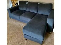 3 Seater Corner Chaise Sofa