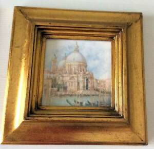 Venetian painting in gold frame Broadbeach Waters Gold Coast City Preview