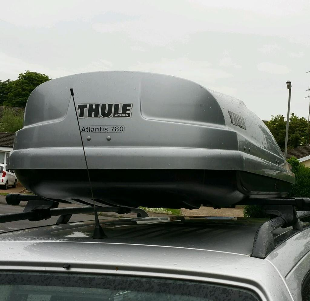 thule atlantis 780 roof box for sale in bletchley