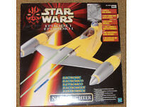 Star Wars Ep 1 Naboo Fighter Boxed with lights and real sounds