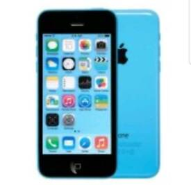 IPhone 5c mint condition 16gb box charger