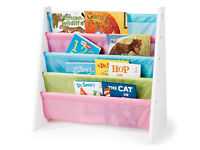 Easy access, pastel bookcase / Crafts Storage / Tidy Bedroom for Kids
