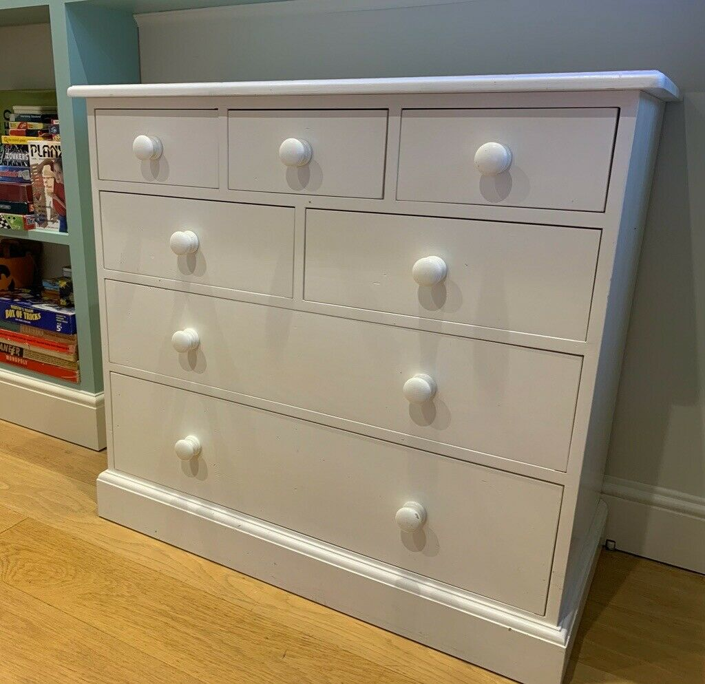 White Company Chest Of Drawers In