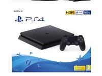 Wanted working ps4 have cash available £100