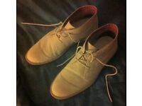 Mens suede shoes/boots. Unworn. Size 10. Bought in error. Bargain