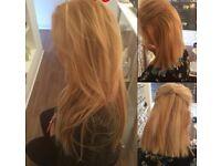 Hair Extensions - *** Half head fitting £50***