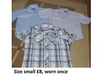 mens shirts size small from a smoke and pet free home collection from didcot