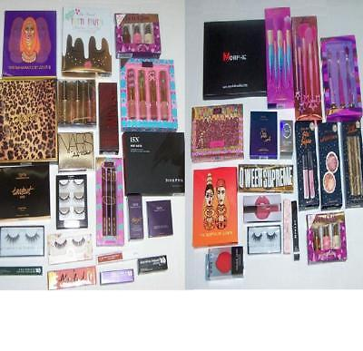 MAKEUP MYSTERIES BOX LOT HIGH END BRANDS NEW $225Val LIFE WITH MAK LAURA LEE