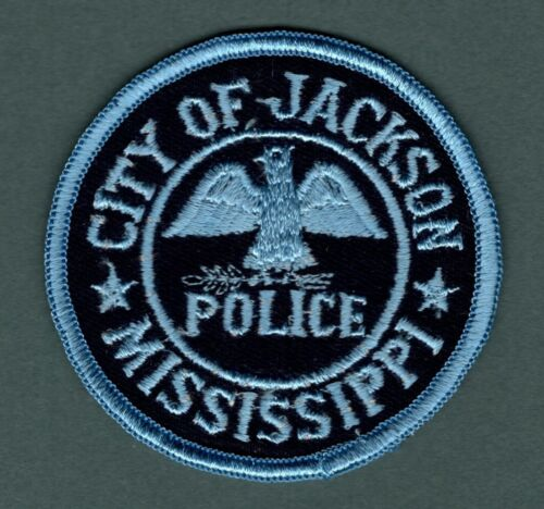 Jackson Mississippi Police Patch