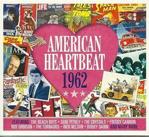 AMERICAN-HEARTBEAT-1962-2-CD-BOX-SET-GENE-PITNEY-RICK-NELSON-MORE
