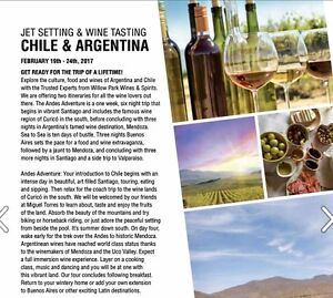 Wine tour - Chile and Argentina