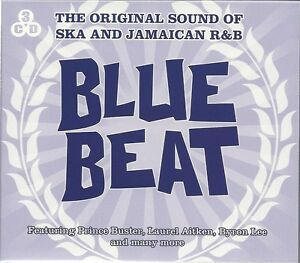 THE ORIGINAL SOUND OF SKA AND JAMAICAN R & B BLUE BEAT - 3 CD BOX SET
