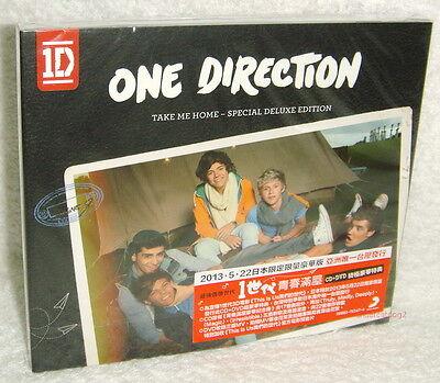 One Direction Take Me Home Special Deluxe Edition Taiwan CD+DVD w/BOX (22-trks), usado segunda mano  Embacar hacia Argentina