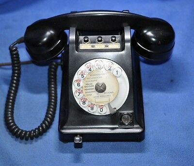 French U53 Telephone -  2-Line  - The French's version of a Western Electric 302