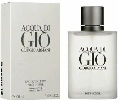 * ACQUA DI GIO by Georgio Armani EDT 3.4 FL Oz New* Free Shipping