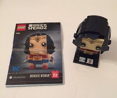 Lego 41599 Wonder Woman Brickheadz Gal Gadot DC Comics Super Heroes No Box