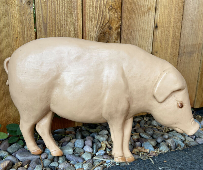 RARE ~ Pig Blow Mold 1990 Union Products Don Featherstone